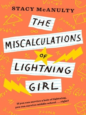 """The Miscalculations of Lightning Girl"" (ebook) cover"